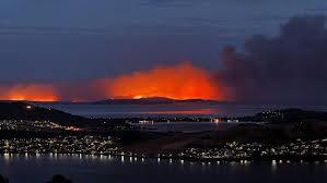tas burning