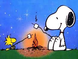 snoopy & marshmallows