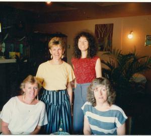 Judy, Jen, Jac & Kim