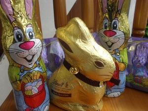 choc bunnies